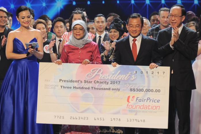 Cheers, FairPrice Foundation and Yeo Hiap Seng jointly donate to the Straits Times School Pocket Money Fund
