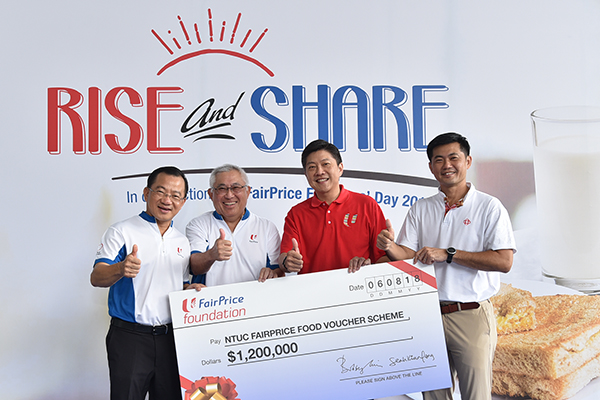 FairPrice Foundation continues to support low-income beneficiaries through Food Voucher Scheme  (25 Aug 2018)