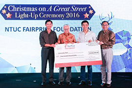 FairPrice Foundation supports the Community Chest Christmas Light-up