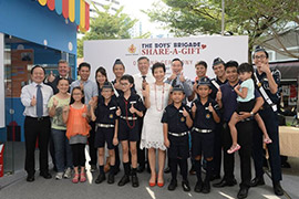 FairPrice Foundation continues its long-term commitment with Boys Brigade's Share-A-Gift Project (BBSG)